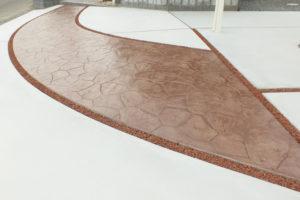 スタンプコンクリート